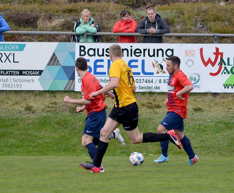letzte Spiel in Schöneck