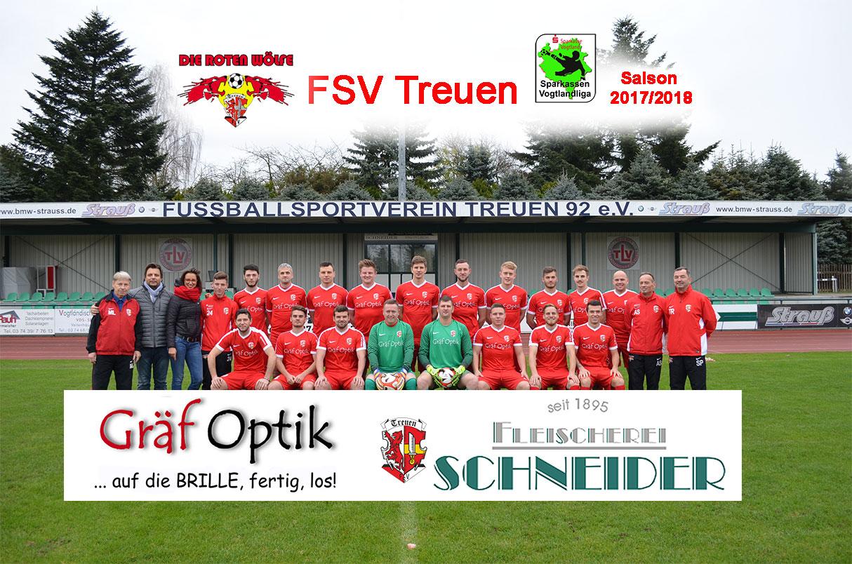 FSV Treuen Saison 2017/18