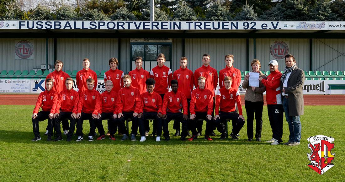 A-Jugend FSV Treuen Saison 2017/18