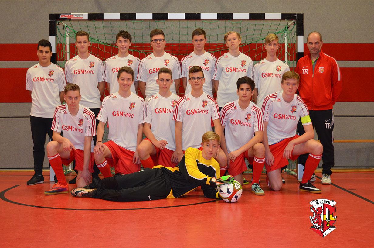 B-Jugend FSV Treuen Saison 2017/18