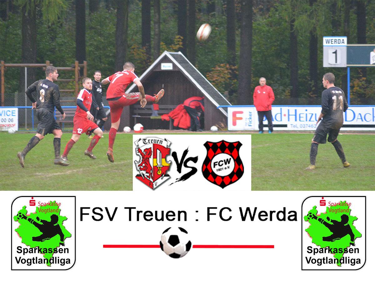 FSV Treuen : FC Werda
