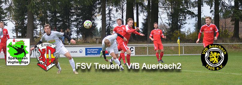 21. Spieltag Treuen gegen Auerbach 2
