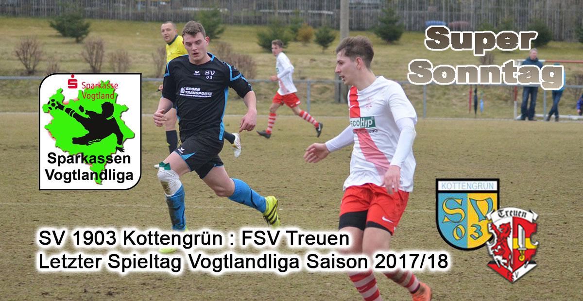 Letzte Spiel der Saison FSV Treuen