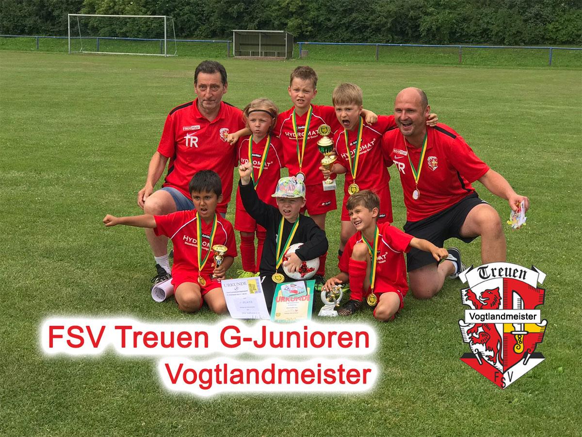 FSV Treuen G-Jugend Vogtlandmeister