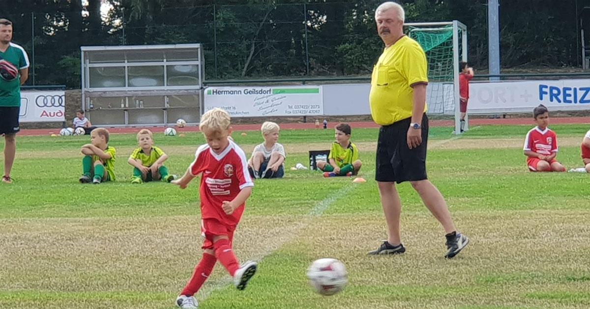 Englische Woche der FSV Treuen F-Junioren