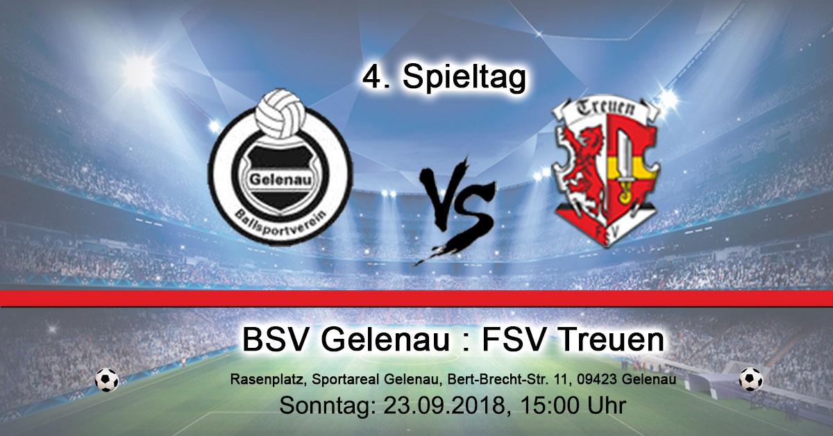 BSV Gelenau : FSV Treuen