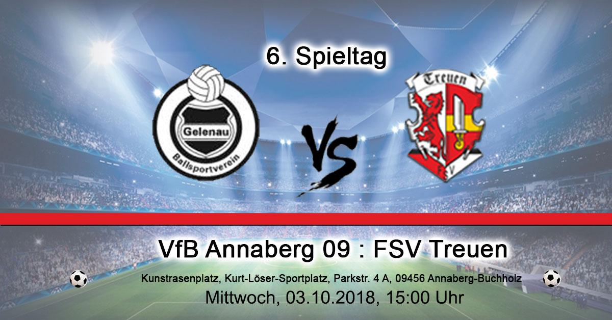 VfB Annaberg 09 : FSV Treuen