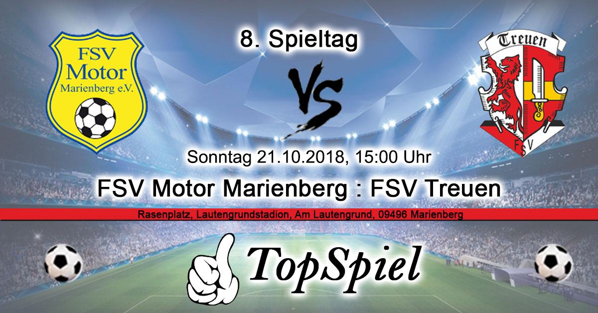 8. Spieltag Landesklasse gegen Marienberg