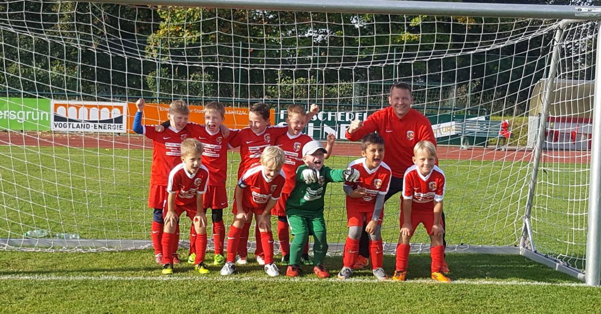 FSV F-Jugend siegt 8:0