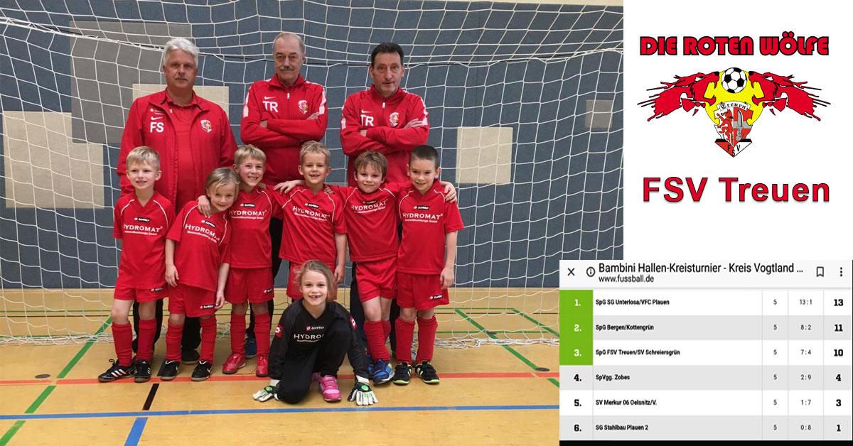 FSV Treuen Bambini in der Endrunde