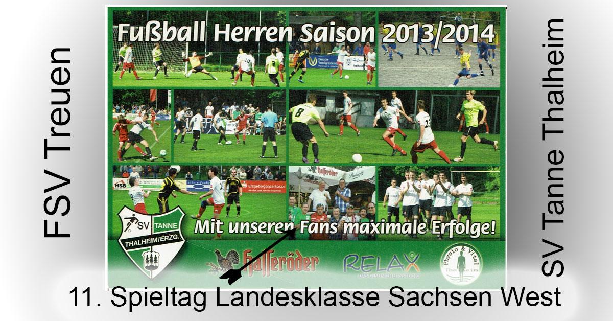 11. Spieltag Landesklasse Sachsen West