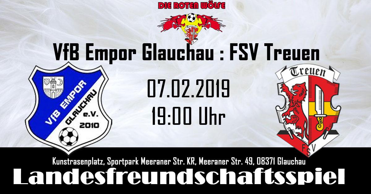 VfB Empor Glauchau : FSV Treuen Testspiel