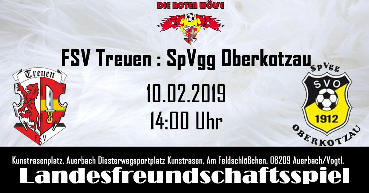 FSV Treuen : SpVgg Oberkotzau, Testspiel