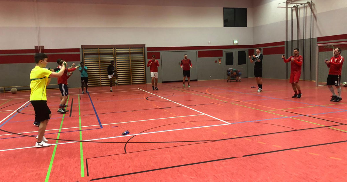 Training FSV Treuen