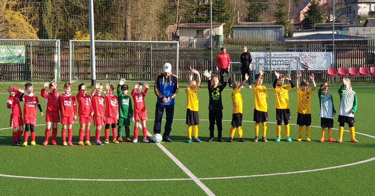 F-Jugend FSV Treuen: Auerbach