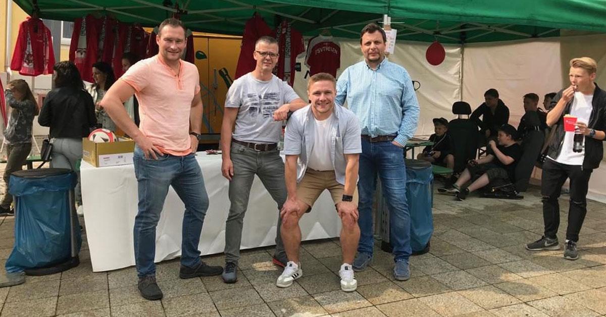 Vorstand FSV Treuen zum Hutzentag