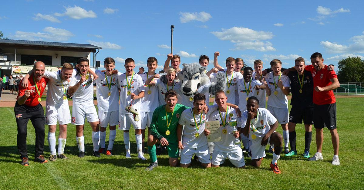 FSV Treuen A-Jugend Pokalsieger