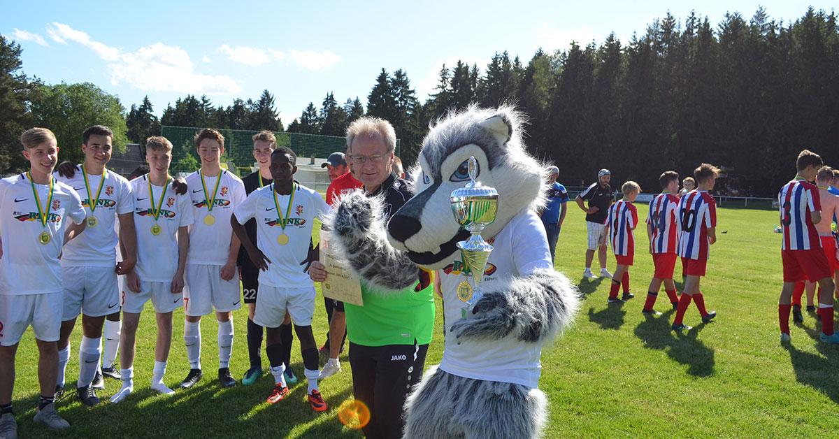 Pokalsieger A-Jugend FSV Treuen
