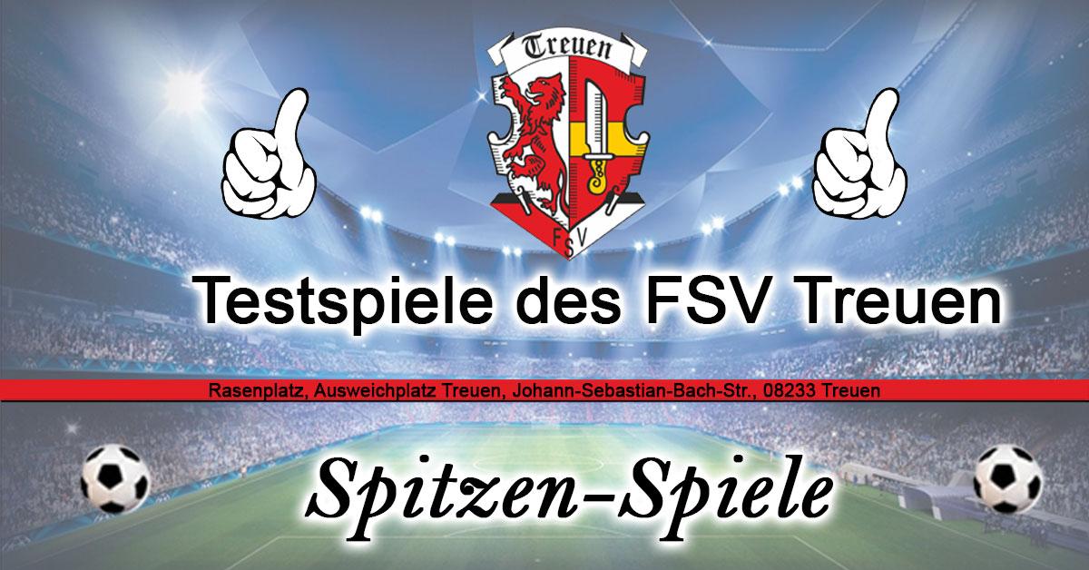 Testspiele FSV Treuen 2019