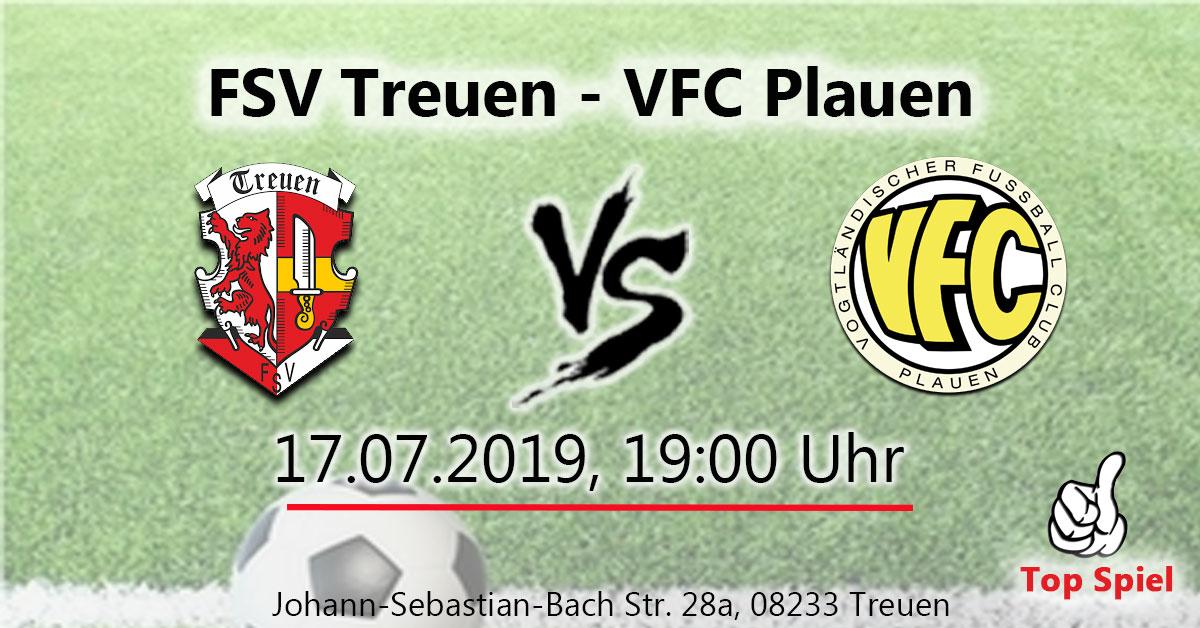 FSV Treuen : VFC Plauen