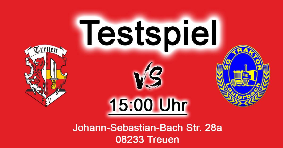 FSV Treuen : SpG Lauterbach/Oelsnitz