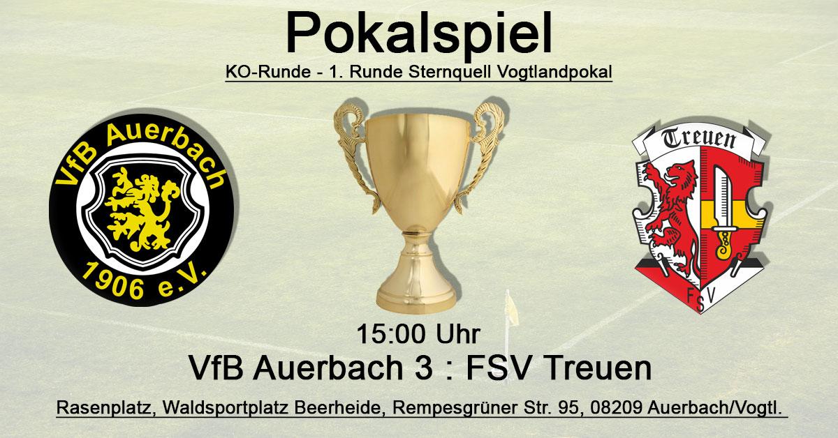 VfB Auerbach 3 : FSV Treuen
