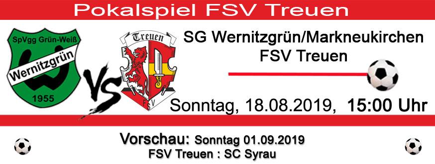 Pokalspiel FSV Treuen
