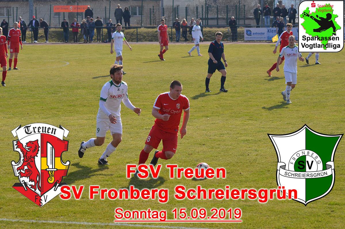 FSV Treuen : SV Fronberg Schreiersgrün