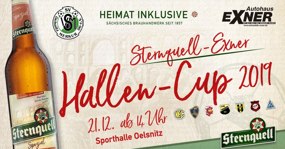 Sternquell-Exner Hallencup 2019