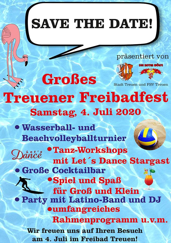 Großes Treuener Freibadfest