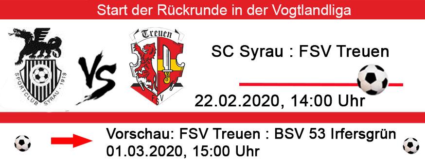 SG Syrau - FSV Treuen