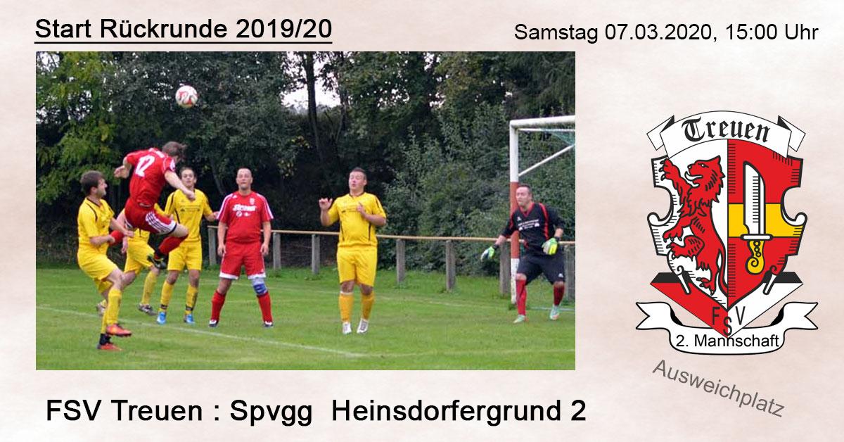 Vorschau 2. Mannschaft FSV Treuen
