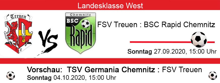FSV Treuen : Rapid Chemnitz