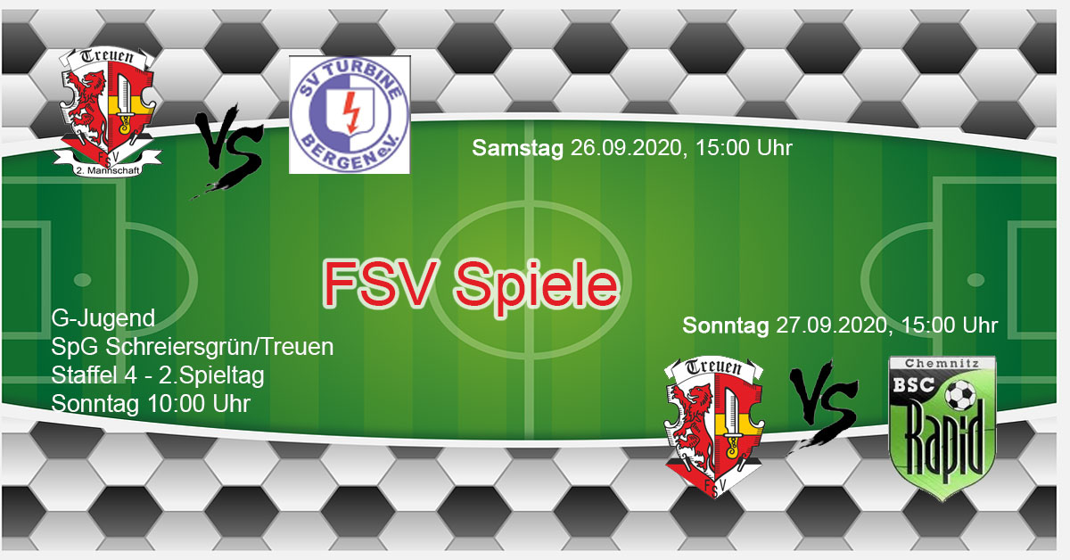 Vorschu FSV Treuen gegen Rapid Chemnitz