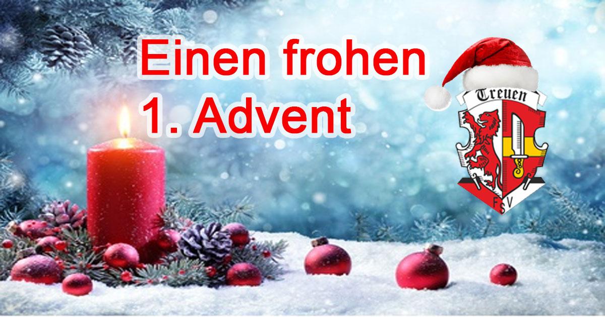 Einen frohen 1. Advent