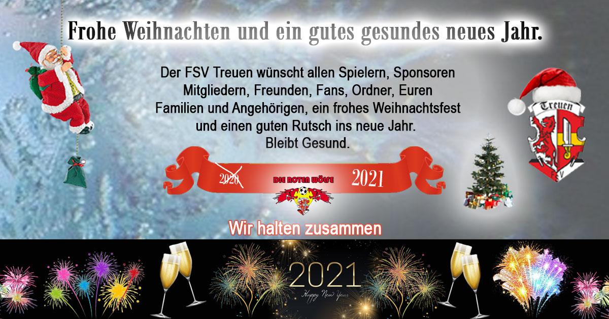 Der FSV Treuen wünscht frohe Weihnacht