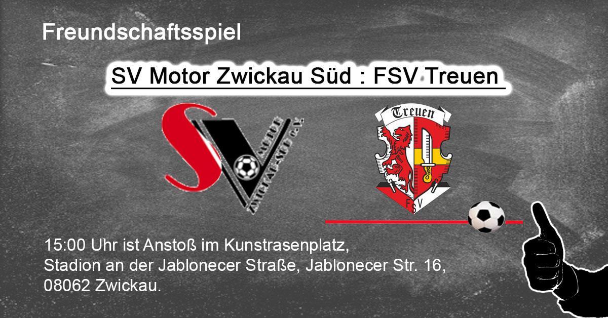 SV Motor Zwickau Süd : FSV Treuen