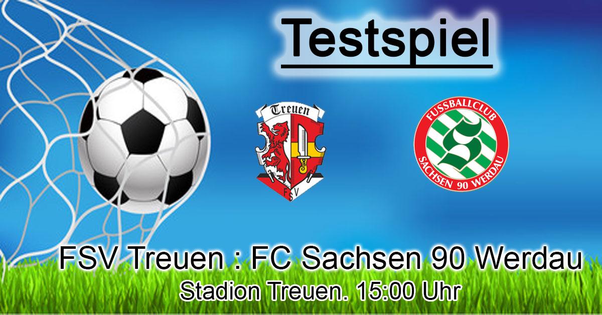 FSV Treuen : FC Sachsen 90 Werdau
