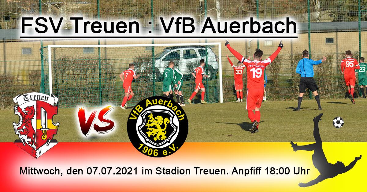 FSV Treuen : VfB Auerbach