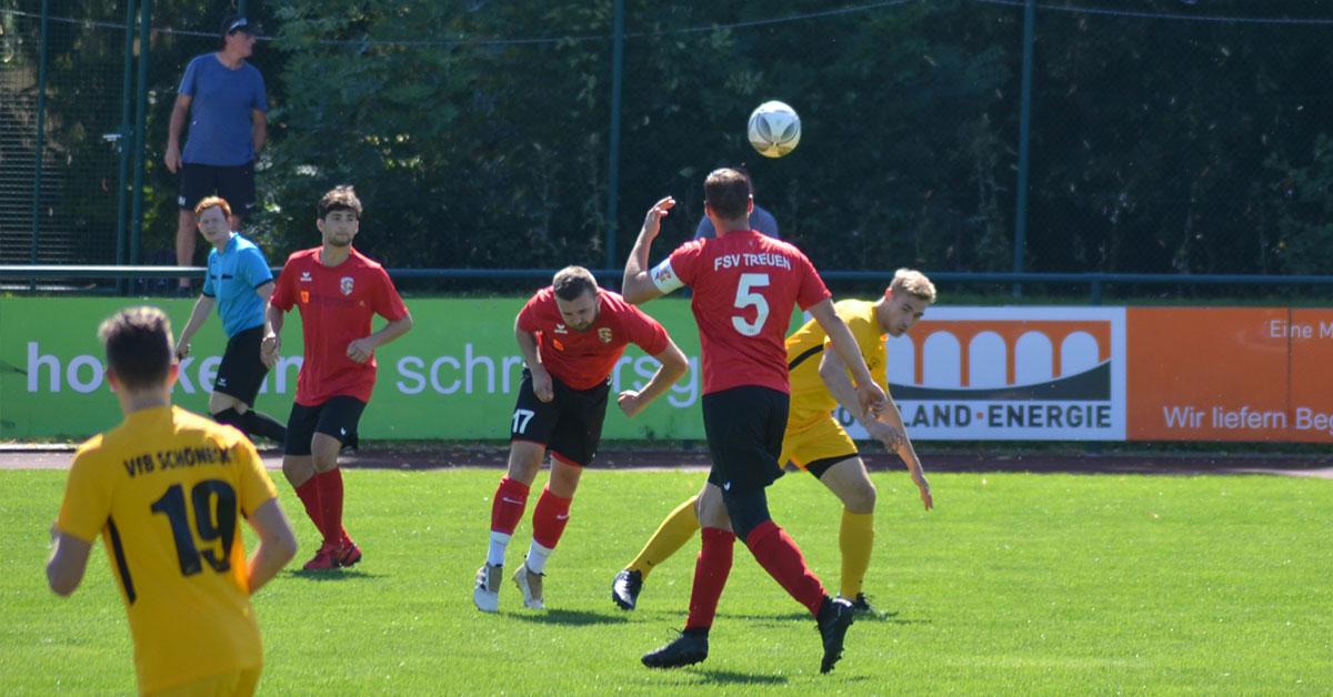 FSV Treuen II : VfB Schöneck