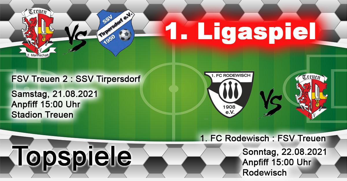 1. Ligaspiel 2021 FSV Treuen